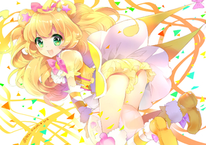 Rating: Safe Score: 1 Tags: 1girl animal_ears ass ball beachball bear_ears blonde_hair bloomers cure_mofurun dress edoya_pochi frilled_legwear green_eyes hat long_hair mahou_girls_precure! mofurun_(mahou_girls_precure!) personification precure star star-shaped_pupils symbol-shaped_pupils underwear witch_hat User: DMSchmidt