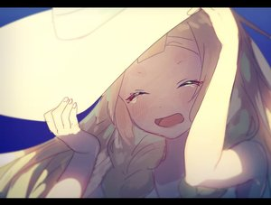 Rating: Safe Score: 1 Tags: 1girl bad_id bad_twitter_id blonde_hair braid closed_eyes hands_on_headwear hat lillie_(pokemon) long_hair open_mouth pokemon pokemon_(game) pokemon_sm solo sun_hat twin_braids white_hat yuno_tsuitta User: DMSchmidt