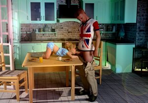 Rating: Explicit Score: 67 Tags: 1boy 1girl 3dcg age_difference blowing breakfast chair fellatio highres kitchen on_table oral orange_juice pancakes penis photorealistic size_difference slimdog socks sunlight table testicles toddlercon User: lalilu1234