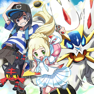 Rating: Safe Score: 0 Tags: 10s 1boy 1girl bag bangs black_eyes black_hair blonde_hair blue_sky blunt_bangs blush_stickers braid cloud day green_eyes kingin legendary_pokemon lillie_(pokemon) litten looking_at_viewer pleated_skirt poke_ball pokemon pokemon_(creature) pokemon_(game) pokemon_sm ponytail school_uniform shirt short_sleeves shorts skirt sky smile solgaleo striped striped_shirt teeth you_(pokemon_sm) z-ring User: Domestic_Importer