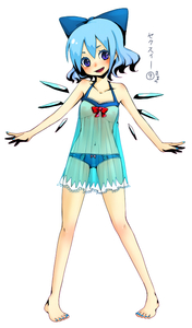 Rating: Questionable Score: 1 Tags: (9) 1girl barefoot blue_hair cirno feet flat_chest lingerie mame_usagi nail_polish ribbon see-through short_hair solo team_shanghai_alice toenail_polish touhou_project underwear wings ⑨ User: DMSchmidt