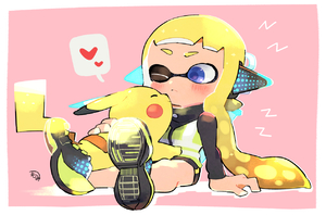 Rating: Safe Score: 3 Tags: 1girl ;( blonde_hair blue_eyes blush closed_mouth creatures_(company) domino_mask frown game_freak gen_1_pokemon headgear heart inkling kirikuchi_riku long_hair long_sleeves mask nintendo pikachu pokemon pokemon_(creature) shoes sitting spats speech_bubble splatoon_(series) spoken_heart squidbeak_splatoon suction_cups super_smash_bros. tentacle_hair vest User: Domestic_Importer