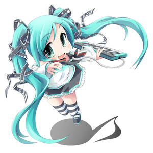 Rating: Safe Score: 2 Tags: 1girl aqua_hair chibi detached_sleeves green_eyes hair_ribbon ham_(points) hatsune_miku instrument keyboard_(instrument) long_hair melodica necktie ribbon skirt solo striped striped_legwear thighhighs twin_tails vocaloid zettai_ryouiki User: DMSchmidt