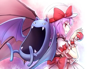 Rating: Safe Score: 0 Tags: 1girl ascot bat_wings blush bow fang fangs frilled_shirt frilled_shirt_collar frilled_sleeves frills golbat hat hat_ribbon lavender_hair looking_at_viewer looking_back minust mob_cap open_mouth poke_ball pokemon pokemon_(creature) puffy_short_sleeves puffy_sleeves red_bow red_eyes red_ribbon remilia_scarlet ribbon ribbon_trimmed shirt short_hair short_sleeves smile team_shanghai_alice touhou_project wings wrist_cuffs User: DMSchmidt