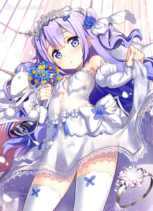 Rating: Safe Score: 0 Tags: 1girl :o alternate_costume azur_lane bare_shoulders blue_bow blue_rose blush bow bow_panties breasts bridal_veil choker cowboy_shot cross detached_sleeves dot_nose dress dress_lift eyebrows eyebrows_visible_through_hair eyes_visible_through_hair facing_away flower fujima_takuya hair_bun hair_flower hair_ornament hair_ribbon head_tilt heart_choker jewellery juliet_sleeves lace lace-trimmed_dress lace_trim legs_apart lifted_by_self long_hair long_sleeves looking_at_viewer midriff object_hug open_mouth pantsu petals puffy_sleeves purple_bow purple_eyes purple_hair ribbon ring rose see-through side_bun skirt_hold sleeves_past_wrists small_breasts solo sparkle standing strapless strapless_dress stuffed_animal stuffed_toy stuffed_unicorn tareme thighhighs tiara twitter_username underwear unicorn unicorn_(azur_lane) veil wedding_band wedding_dress white_choker white_dress white_pantsu white_ribbon User: DMSchmidt
