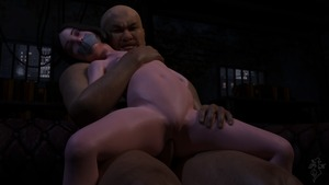 Rating: Explicit Score: 17 Tags: 1boy 1girl 3dcg age_difference anal bdsm black_hair bondage bound clitoris fat_man flat_chest gag grimace interracial lily_castellanos looking_at_viewer navel nipples nude penis photorealistic pussy rape rolling_eyes smile snow-kitsune tape_gag testicles uncensored User: fantasy-lover