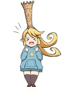 Rating: Safe Score: 0 Tags: 1girl :d >_< bangs black_legwear blonde_hair blue_hoodie blush boots brown_footwear charlotta_fenia closed_eyes crown eyebrows_visible_through_hair facing_viewer granblue_fantasy hands_up harvin highres hood hood_down hoodie knee_boots long_hair long_sleeves mitchi open_mouth pointy_ears print_hoodie smile solo star thighhighs v-shaped_eyebrows very_long_hair xd User: DMSchmidt