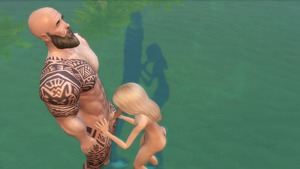 Rating: Explicit Score: 11 Tags: 1boy 1girl 3dcg age_difference artist_request ass blonde_hair fellatio handjob nude oral outdoors penis photorealistic profile shadow source_request standing tattoo testicles the_sims_(series) the_sims_4 water User: mitskits