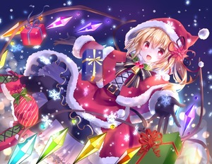 Rating: Safe Score: 0 Tags: 1girl :d alternate_costume bell belt belt_buckle black_gloves black_legwear blonde_hair blush boots bow bowtie box buckle capelet christmas cross-laced_clothes cross-laced_footwear crystal dutch_angle eyebrows_visible_through_hair fang feeding flandre_scarlet flower fur-trimmed_capelet fur-trimmed_hood fur-trimmed_skirt fur-trimmed_sleeves fur_trim gift gift_box gloves hair_flower hair_ornament hat holly hood hood_up hooded_capelet knee_boots kure~pu lace-up_boots long_sleeves looking_at_viewer medium_hair night night_sky one_side_up open_mouth outstretched_arm pantyhose poinsettia pom_pom_(clothes) red_eyes red_skirt santa_costume santa_hat skirt sky smile snowflakes snowing solo spread_arms striped striped_bow touhou_project wings User: DMSchmidt