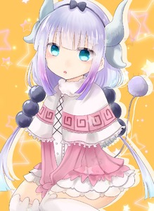 Rating: Safe Score: 0 Tags: 1girl bangs blue_eyes bow capelet dragon_horns dress drop_shadow eyebrows_visible_through_hair feet_out_of_frame frilled_capelet frills fur-trimmed_capelet fur_trim hair_bow hairband head_tilt hiiro_(0h11r0) horns kanna_kamui kobayashi-san_chi_no_maidragon long_hair long_sleeves loo looking_at_viewer low_twintails orange_background over-kneehighs parted_lips pink_cardigan sidelocks silver_hair sitting solo star starry_background tail thighhighs twin_tails wariza white_dress white_legwear User: Domestic_Importer