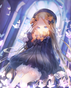 Rating: Safe Score: 2 Tags: 1girl abigail_williams_(fate/grand_order) bangs black_bow black_dress black_hat blonde_hair bloomers blue_eyes blurry blurry_background bow bug butterfly church_interior closed_mouth depth_of_field dress eyebrows_visible_through_hair fate/grand_order fate_(series) forehead hair_bow hat head_tilt highres insect long_hair long_sleeves looking_at_viewer orange_bow parted_bangs polka_dot polka_dot_bow shiromi sleeves_past_fingers sleeves_past_wrists solo stuffed_animal stuffed_toy teddy_bear underwear very_long_hair white_bloomers window User: DMSchmidt