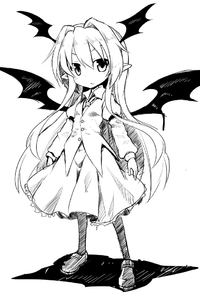 Rating: Safe Score: 0 Tags: 1girl :o >:o bat_wings blazer buttons frilled_skirt frills full_body hair_between_eyes head_wings jacket juliet_sleeves koakuma loafers long_hair long_sleeves looking_at_viewer monochrome necktie pantyhose pointy_ears puffy_sleeves samezamekoban shadow shoes sidelocks simple_background skirt skirt_set solo touhou_project very_long_hair white_background wings younger User: DMSchmidt