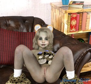 Rating: Explicit Score: 50 Tags: 1girl 3dcg animal_ears anus artist_name blonde_hair bookshelf clitoral_glans clitoral_hood clitoris donald_trump flat_chest highres looking_at_viewer looking_up navel nipples nude original oversized_paw_gloves paw_gloves paw_shoes paws photorealistic presenting pussy slimdog smile socks uncensored User: lalilu1234