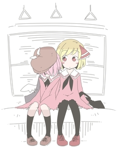 Rating: Safe Score: 0 Tags: 2girls blonde_hair blush_stickers contemporary jagabutter leaning_on_person multiple_girls mystia_lorelei pantyhose partially_coloured pink_hair rumia school_uniform short_hair sitting sketch sleeping touhou_project train_interior User: DMSchmidt
