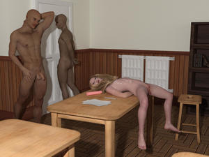 Rating: Explicit Score: 21 Tags: 1girl 2boys 3dcg after_sex age_difference arms_behind_back barefoot blonde_hair blood blue_eyes classroom cum cum_on_body dildo drabok_(artist) facial flat_chest highres long_hair lying multiple_boys multiple_penises nipples nude on_table pen penis photorealistic rape sex_toy sick_lolicon_3d_artworks spread_legs standing table testicles uncensored virgin User: Software