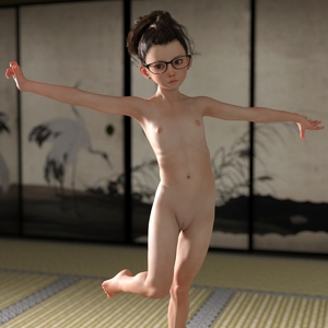 Rating: Questionable Score: 45 Tags: 1girl 3dcg bad_source barefoot flat_chest glasses libidoll looking_at_viewer navel nipples nude photorealistic pose pussy rug shadow solo standing User: fantasy-lover