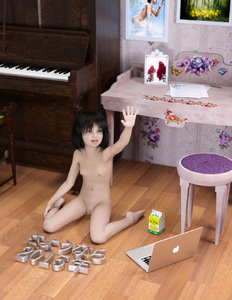Rating: Questionable Score: 23 Tags: 1girl 2015 3d_custom_girl 3dcg asian barefoot black_hair breasts computer feet highres juice_carton kneeling laptop navel nipples nude on_floor open_mouth original photorealistic piano pussy shiny shiny_hair short_hair small_breasts solo toufu_(tofusan) uncensored wariza waving User: Domestic_Importer