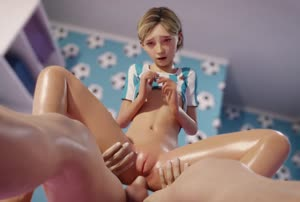 Rating: Explicit Score: 114 Tags: 1boy 1girl 3dcg anal animated blonde_hair ceiling flat_chest girl_on_top groin indoors jollylolly lying mons_veneris navel nipples on_back parted_lips penis photorealistic pussy reverse_cowgirl_position sarah_(the_last_of_us) sex shiny_skin shirt shirt_lift short_hair spread_legs spread_pussy straddling teenage testicles the_last_of_us uncensored vertical-striped_shirt video User: Domestic_Importer