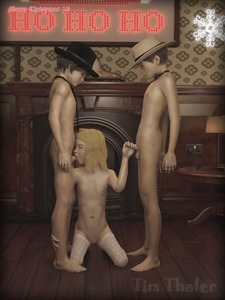 Rating: Explicit Score: 2 Tags: 1girl 2boys 3dcg barefoot blonde_hair closed_eyes flat_chest holding_penis imminent_fellatio kneeling multiple_boys navel nipples nude penis photorealistic standing testicles thighhighs tim_thaler User: fantasy-lover