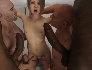 Rating: Explicit Score: 13 Tags: 1girl 3dcg 4boys bald blonde_hair dark_skinned_male gangbang group_sex huge_penis kawaii multiple_boys nipples nude open_mouth penis photorealistic ponytail pussy uncensored User: imjekyll
