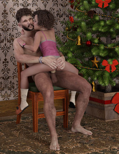 Rating: Explicit Score: 2 Tags: 1boy 1girl 3dcg age_difference ass ass_grab barefoot christmas christmas_tree condom cowgirl_position l3d penis photorealistic sitting socks testicles vaginal watch User: fantasy-lover