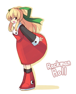 Rating: Safe Score: 0 Tags: 1girl blonde_hair boots capcom dress flat_chest green_eyes hair_ribbon knee_boots long_hair open_mouth ponytail red_dress ribbon rockman rockman_(classic) roll seo_tatsuya smile solo User: DMSchmidt