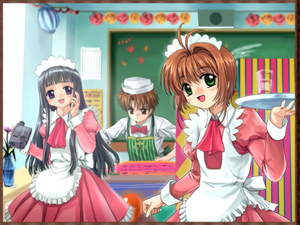 Rating: Safe Score: 0 Tags: camcorder camera cardcaptor_sakura daidouji_tomoyo highres kinomoto_sakura li_syaoran maid mutsuki_(moonknives) waitress User: DMSchmidt