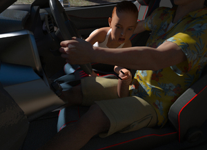 Rating: Explicit Score: 15 Tags: 1boy 1girl 3dcg age_difference arenderer_(infinitedraw) car flat_chest handjob open_mouth penis photorealistic steering_wheel User: fantasy-lover