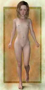 Rating: Questionable Score: 31 Tags: 1girl 3dcg blonde_hair breasts freckles full_body green_eyes long_hair looking_at_viewer nude photorealistic pussy small_breasts solo taro_baku thighhighs User: yobsolo