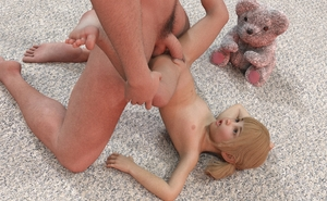Rating: Explicit Score: 26 Tags: 1boy 1girl 3dcg age_difference barefoot blonde_hair blue_eyes flat_chest killer-x kneeling looking_at_partner looking_up navel nipples nude open_mouth penis photorealistic pubic_hair pussy shadow snarkmaster stuffed_animal stuffed_toy testicles top-down_bottom-up twin_tails vaginal User: fantasy-lover