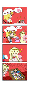 Rating: Safe Score: 1 Tags: /\/\/\ 2girls 4koma :d >_< absurdres blonde_hair blush_stickers box broken comic cravat doll dress eyebrows_visible_through_hair fairy_wings flandre_scarlet flying_sweatdrops hat hat_ribbon head_wreath heart highres indoors lily_white long_hair long_sleeves mob_cap multiple_girls musical_note no_mouth no_nose open_mouth pink_dress puffy_short_sleeves puffy_sleeves rakugaki-biyori rapeseed_blossoms red_neckwear ribbon short_sleeves simple_background smile solid_oval_eyes spoken_heart spoken_musical_note square_mouth stuffed_animal stuffed_toy stuffing table touhou_project toy wings xd User: DMSchmidt