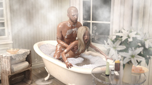 Rating: Explicit Score: 26 Tags: 1boy 1girl 3dcg age_difference bathroom bathtub blonde_hair breasts bubbles closed_eyes doggystyle father_and_daughter from_behind photorealistic sex small_breasts steam window User: MikaSu
