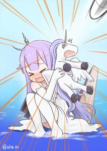 Rating: Safe Score: 0 Tags: 1girl >_< ahenn azur_lane blush doll_hug dress elbow_gloves emphasis_lines flight_deck gloom_(expression) gloves long_hair open_mouth purple_hair scared squatting stuffed_pegasus stuffed_unicorn thighhighs twitter_username unicorn_(azur_lane) water wavy_mouth white_dress white_gloves white_legwear User: DMSchmidt