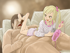 Rating: Explicit Score: 14 Tags: 1boy 1girl age_difference asymmetrical_hair barefoot between_toes blonde_hair bow brown_hair cellphone chocolate chocolate_heart clothed_female_nude_male egg_vibrator erection fat_man feet femdom foot_on_head footjob foreskin girl_on_top glasses hair_bow hair_ornament heart long_hair looking_back looking_over_shoulder lying_on_person nipples nude onahole open_mouth penis phone pierre_iwashi sex_toy side_ponytail size_difference smartphone smile toes ugly_man uncensored valentine vibrator yellow_eyes User: Software