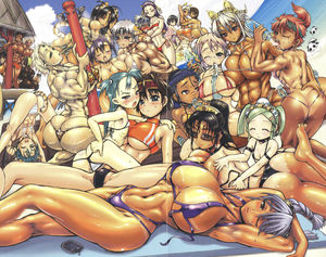 Rating: Questionable Score: 6 Tags: 6+girls abs animal_ears armpits ass ass_grab back backboob backless_panties beach between_breasts bikini blue_hair blush bottle breast_hold breast_press breasts brown_skin butt_crack cat_tail cowtits curvy flat_chest glasses green_hair headband highres hug huge_ass huge_breasts large_breasts leopard_print long_hair lotion lying multiple_girls muscle one_eye_closed pantsu purple_hair rebis red_hair short_hair shower silver_hair sunglasses swimsuit tail tan tankini tanline thong tongue underwear v-string User: Domestic_Importer