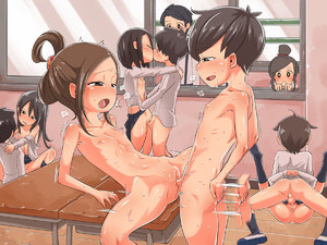 Rating: Explicit Score: 14 Tags: 3boys 6+girls anus black_hair blush brown_hair child_on_child closed_mouth clothed_female_nude_female clothed_female_nude_male clothed_male_nude_female clothed_male_nude_male clothed_sex collarbone desk drooling eyebrows_visible_through_hair flat_chest floor group_sex half-closed_eyes hetero imuneko leaning_back long_sleeves lying mating_press multiple_boys multiple_girls nude on_back open_clothes open_mouth open_shirt orgy original penis profile pussy saliva school school_uniform sex shiny shiny_skin shirt shoes short_hair shota skirt spread_legs standing testicles uncensored vaginal window wooden_floor User: Domestic_Importer