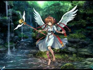 Rating: Safe Score: 0 Tags: angel barefoot brown_hair cardcaptor_sakura feet_in_water forest green_eyes hair_ornament highres hoshi_no_tsue kinomoto_sakura magical_girl mutsuki_(moonknives) nature river short_hair skirt soaking_feet tree wallpaper water wings User: DMSchmidt