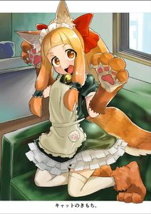 Rating: Safe Score: 0 Tags: 10s 1girl >:o alternate_costume alternate_hairstyle animal_ears apron bangs bell bell_collar blunt_bangs blush bow chabatake_ao chair collar cosplay desk dress enmaided eyes_visible_through_hair fate_(series) floor fox_ears fox_tail frilled_dress frills gloves green_dress hair_bow hair_tubes headdress ichihara_nina idolmaster idolmaster_cinderella_girls indoors kemonomimi_mode kneeling long_hair looking_at_viewer maid maid_headdress open_mouth orange_eyes out_of_frame paw_boots paw_gloves paw_pose paw_print paws ponytail puffy_short_sleeves puffy_sleeves red_bow round_teeth short_eyebrows short_sleeves solo tail tamamo_(fate)_(all) tamamo_cat_(fate) tamamo_cat_(fate)_(cosplay) teeth thighhighs wall white_apron white_legwear window User: Domestic_Importer
