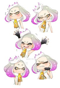 Rating: Safe Score: 0 Tags: +_+ 1girl :3 :d ^_^ absurdres angry armpits arms_up bare_shoulders blush clenched_teeth closed_eyes crown domino_mask expressions face fang fingerless_gloves gloves half-closed_eyes happy highres hime_(splatoon) looking_at_viewer mask mole mole_under_mouth multicoloured_hair nervous open_mouth pink_hair puchiman short_eyebrows short_hair simple_background sleeveless smile solo_focus splatoon splatoon_2 sweatdrop symbol-shaped_pupils teeth tentacle_hair twitter_username two-tone_hair upper_body wavy_mouth white_background white_hair yellow_eyes zipper User: DMSchmidt