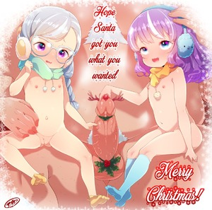 Rating: Explicit Score: 21 Tags: 1boy 2girls blue_eyes blue_legwear blush born-to-die braid christmas diamond_tiara earmuffs erection fang flat_chest glasses humanization long_hair merry_christmas mistletoe multicoloured_hair multiple_girls my_little_pony my_little_pony_friendship_is_magic navel nipples nude open_mouth penis purple_eyes purple_hair pussy scarf silver_hair silver_spoon sitting size_difference socks spread_legs testicles wavy_mouth white_hair yellow_legwear User: Matias2208