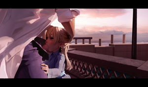 Rating: Explicit Score: 6 Tags: 1girl absurdres age_difference blonde_hair blush day diathorn eila_ilmatar_juutilainen fellatio fence head_hold highres labcoat lips long_hair looking_up oral outdoors pale_skin pavement purple_eyes strike_witches visual_novel world_witches_series User: DMSchmidt