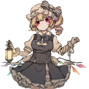 Rating: Safe Score: 0 Tags: 1girl asymmetrical_wings bandaged_arm bandages bangs black_bow black_neckwear black_skirt black_vest blonde_hair bow bowtie closed_mouth cowboy_shot flandre_scarlet gloves hair_ornament hat hat_bow head_tilt lantern mob_cap puffy_short_sleeves puffy_sleeves red_eyes sato_imo short_hair short_sleeves side_ponytail simple_background skirt smile solo striped striped_bow touhou_project vest white_background white_gloves white_hat wings x_hair_ornament User: DMSchmidt