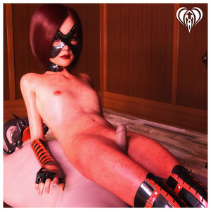 Rating: Explicit Score: 2 Tags: 1boy 1girl 3dcg age_difference arm_gloves between_legs boots brown_hair chair collar dog_costume femdom flat_chest freckles lace_legwear latex latex_legwear legwear lil_heart looking_at_viewer lying mask nipples nude on_back penis penis_rub photorealistic pussy short_hair sitting sitting_on_person thigh_boots uncensored User: Software