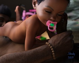 Rating: Explicit Score: 37 Tags: 1boy 1girl 3dcg age_difference ass barefoot brown_skin christmas_tree closed_eyes flat_chest girl_on_top highres lying nipples nude on_back original pacifier penis penis_on_face photorealistic present short_hair slimdog smile toddlercon uncensored wooden_floor User: Domestic_Importer