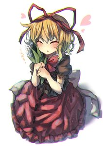 Rating: Safe Score: 0 Tags: 1girl ^_^ ^o^ absurdres blonde_hair blush bow bubble_skirt clip_studio_paint closed_eyes cross-laced_clothes doll dress flower frilled_dress frilled_shirt_collar frills hair_ribbon heart highres holding holding_flower lily_of_the_valley medicine_melancholy phantasmagoria_of_flower_view puffy_short_sleeves puffy_sleeves red_bow red_neckwear red_ribbon red_skirt ribbon seika_okawari short_hair short_sleeves skirt touhou_project white_bow white_flower User: DMSchmidt
