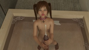 Rating: Explicit Score: 8 Tags: 1boy 1girl 3dcg age_difference brown_hair collar cum ejaculation english flat_chest handjob holding_penis looking_at_partner looking_up nail_polish nipples nude penis photorealistic pomf pool pov shadow twin_tails User: fantasy-lover