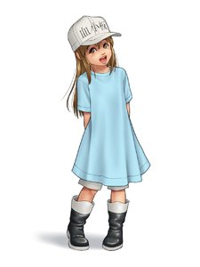 Rating: Safe Score: 3 Tags: 1girl arms_behind_back boots brown_eyes brown_hair dress flat_chest hat hataraku_saibou highres irotsuya lips long_hair looking_at_viewer open_mouth pigeon-toed platelet_(hataraku_saibou) pose shadow simple_background smile solo standing white_background User: DMSchmidt