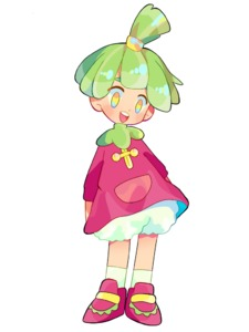 Rating: Safe Score: 0 Tags: 1girl bloomers blush blush_stickers bounsweet dress flat_chest full_body gen_7_pokemon green_hair hair_tie happy long_sleeves looking_down mameeekueya open_mouth poke_ball_theme pokemon purple_dress purple_footwear shiny shiny_hair shoes short_dress short_hair simple_background smile socks solo standing teeth tied_hair topknot underwear white_background white_bloomers white_legwear yellow_eyes User: DMSchmidt