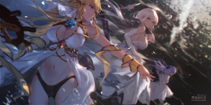 Rating: Safe Score: 0 Tags: 3girls ahoge anthropomorphism artist_name azur_lane bangs bare_shoulders blonde_hair blue_eyes blush breasts cleavage cowtits dress elbow_gloves eyebrows_visible_through_hair floating_hair flower gloves hair_bun hair_ornament hair_ribbon hat hat_removed headwear_removed highres hms_unicorn_(azur_lane) illustrious_(azur_lane) large_breasts laurel_crown light_particles long_hair looking_at_viewer low_twintails mole mole_under_eye multiple_girls navel one_side_up open_mouth outstretched_arm pantsu purple_eyes purple_hair ribbon side_bun smile stuffed_animal stuffed_toy stuffed_unicorn swd3e2 thighhighs twin_tails underwear unicorn_(azur_lane) veil very_long_hair victorious_(azur_lane) white_dress white_gloves white_hair white_legwear wind wind_lift wrist_ribbon User: DMSchmidt