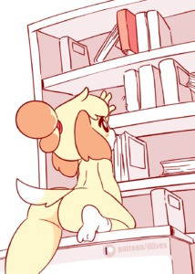 Rating: Questionable Score: 14 Tags: 1girl >_< animal_ears animated anus arm_up artist_name ass black_eyes blonde_hair blush blush_stickers book bookshelf dated diives dog_ears dog_tail doubutsu_no_mori flying_sweatdrops gif hair_tie highres indoors kemono no_humans nude patreon_logo patreon_username pussy reaching shizue_(doubutsu_no_mori) short_hair socks solo spread_legs tail tail_wagging text text_focus tied_hair uncensored white_legwear User: Domestic_Importer